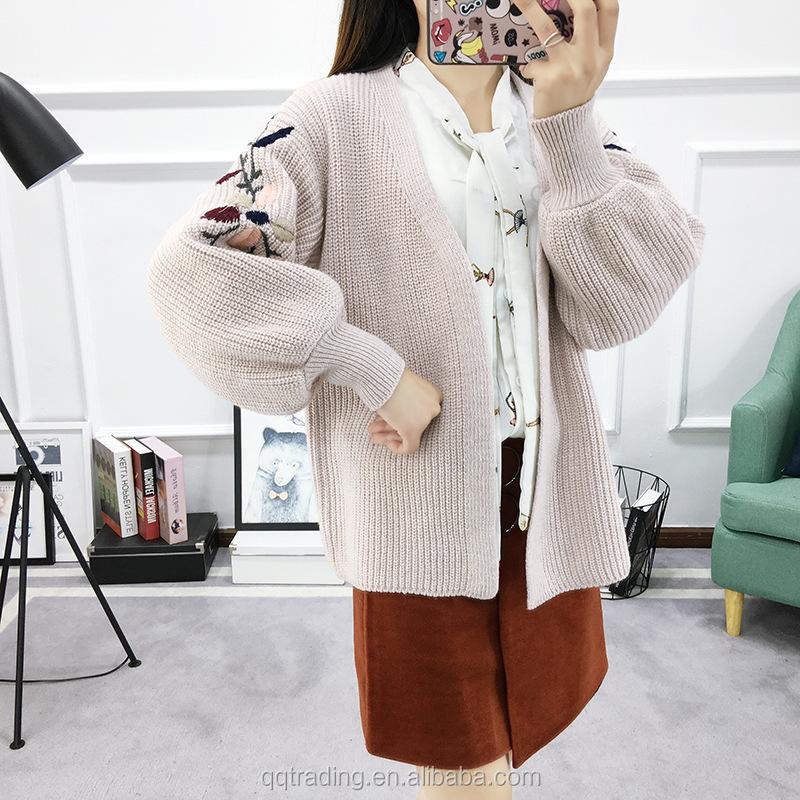 Long Cardigan Mujeres 2017 Diseño De Lana Suéter Para Niña Cachemira ...