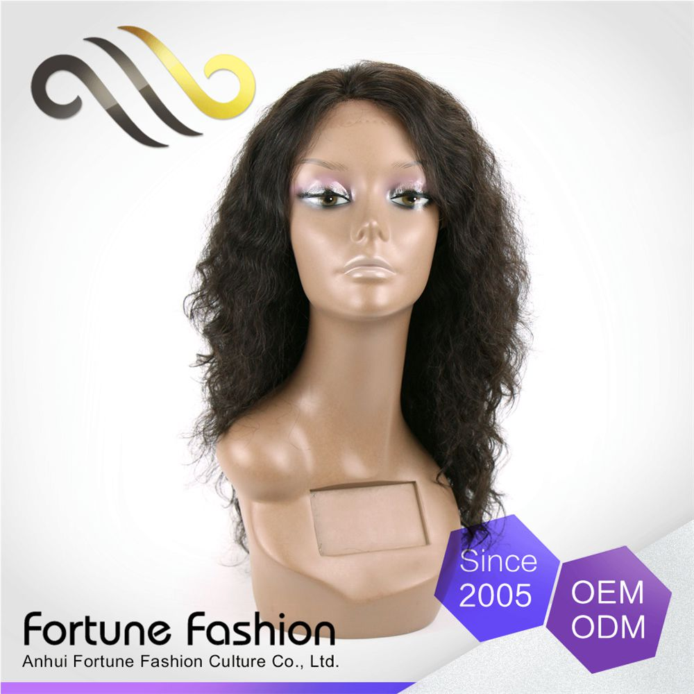 Luxurious Clean And Soft Kinky Loose Curls Human Full Lace Wig