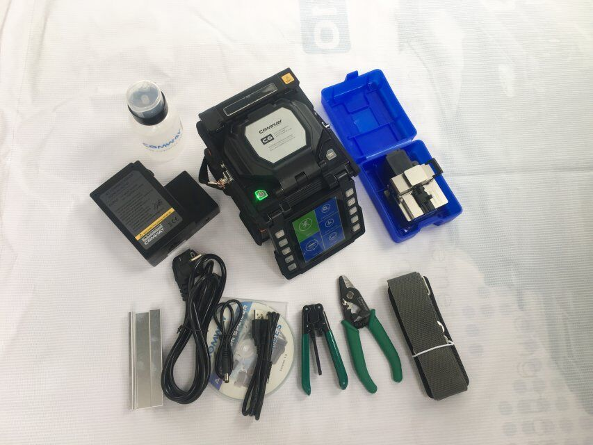 COMWAY C6 FTTH FUSION SPLICER COMWAY Splicing เครื่อง