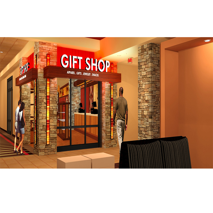 2017 modern tetail toy shop design decoration with lights