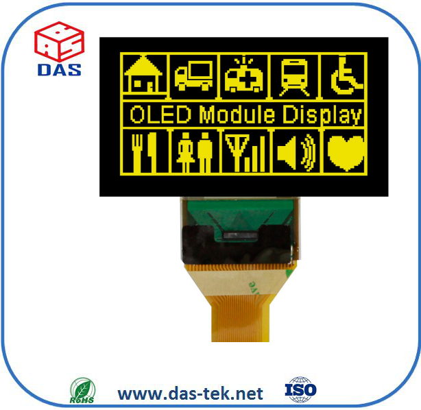 OLED type 2.7inch oled lcd display 128*64dots lcd display module