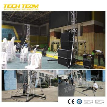 Easy Ste Up Portable Sound Speaker Truss Tower System Cheap Price