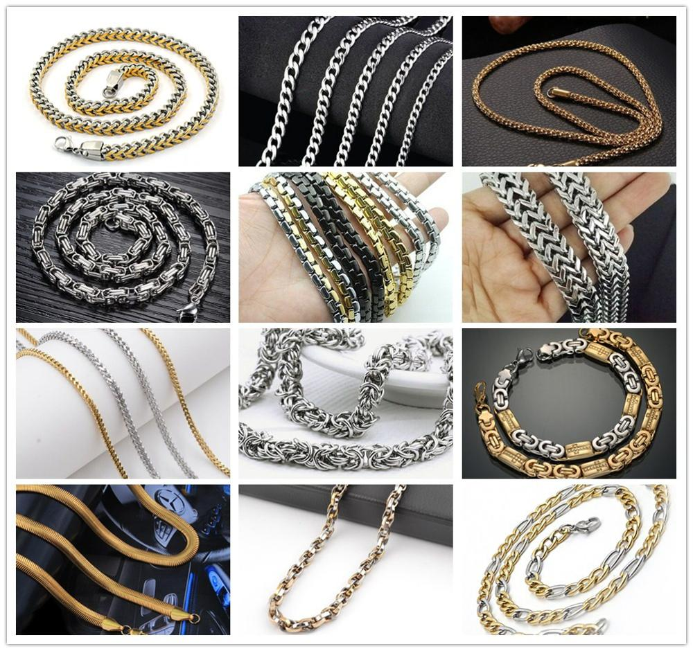 DAICY men's big heavy bling bling iced out pave diamond chain necklace hip hop jewelry