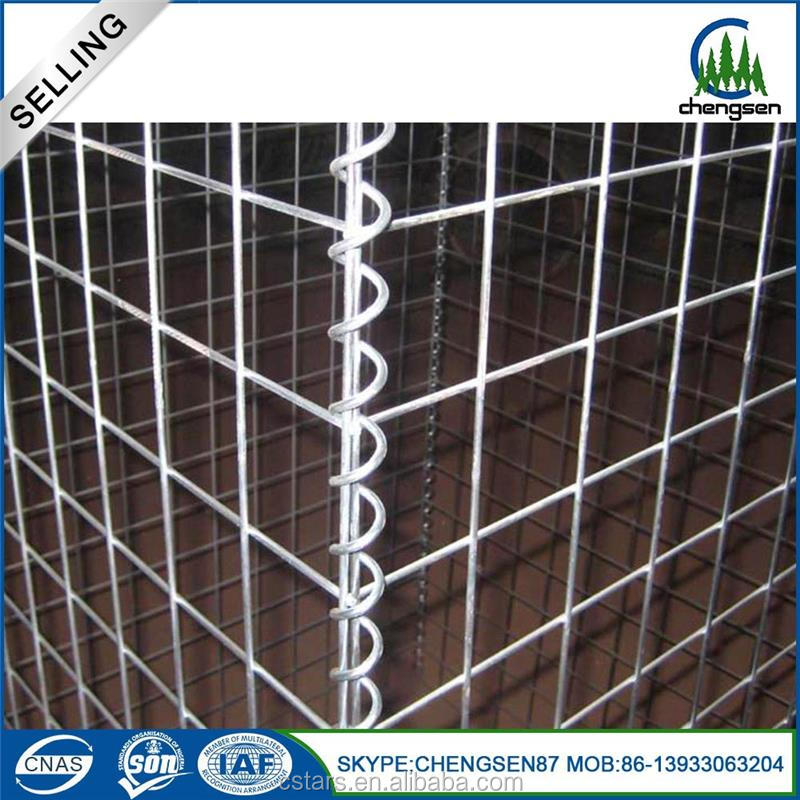 15 years experiences gabion wire mesh box