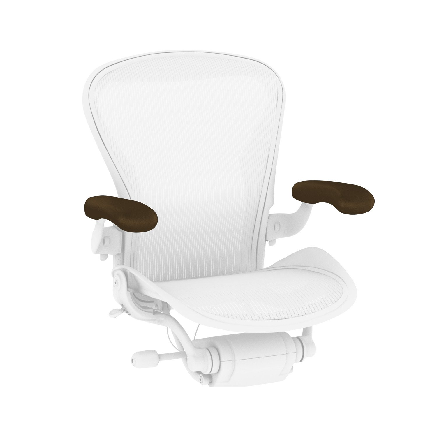 Herman Miller Leather Armpads for Classic Aeron Chair (2 Pack)