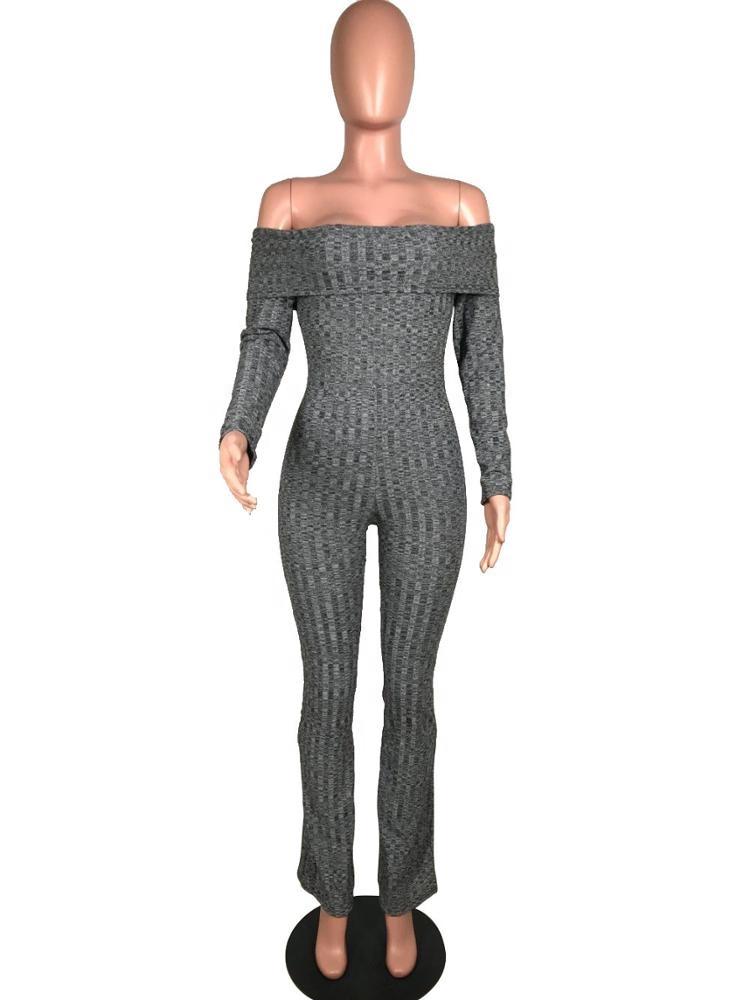 35fa56654e8 China Women Knit Jumpsuit