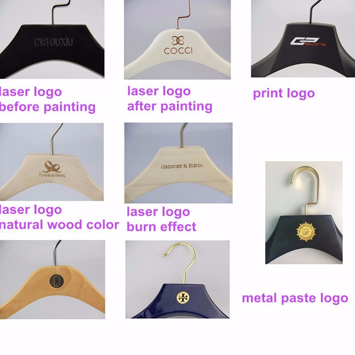 Cy-25 Creative Garment White Wood Dress Hanger For Sexy Clothes ...