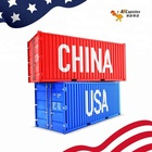 Reliable Cheap DDU DDP Logistics Service Sea Shipping Sea Freight From China to USA  west  east  inland city