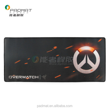 Super Fashion Design for Overwatch game Custom Logo Printing Rubber Mouse Mat