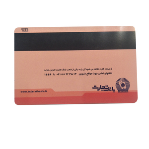 Credit Card Size Gift plastic Card with Magnetic Stripe