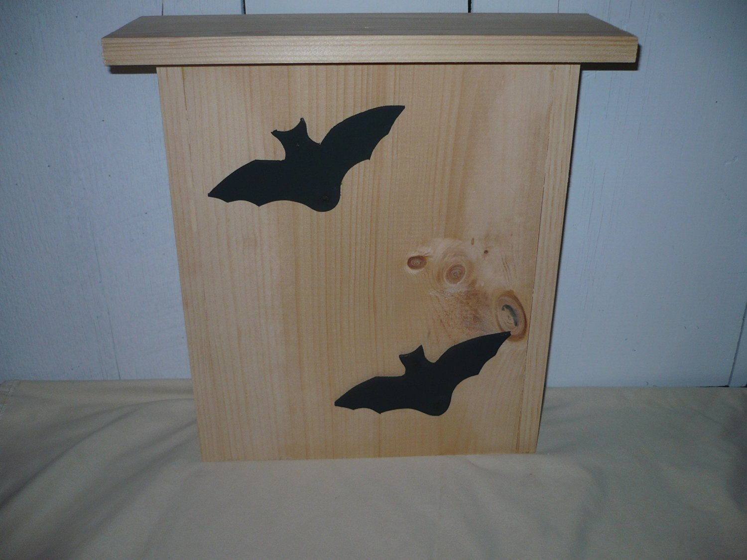 Buy Unfinished Bat House. This Unfinished Bat House Has 2 Bat ... on renovating a house, rebuilding a house, acquiring a house, construction a house, inspecting a house, running to a house, putting together a house, flooding a house, updating a house, erecting a house, demolishing a house, constructing a house, modernizing a house, making a house, repair a house, furnishing a house, moving a house, destroying a house, creating a house, excavating a house,
