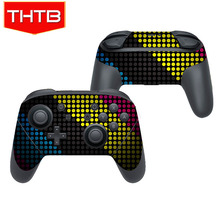 Game Pad Colorful Dots Skin Decal Sticker For Nintendo Switch Pro