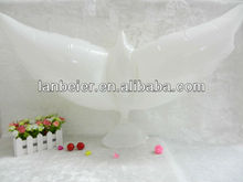 white dove shape balloon for wedding decoration