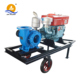 High Volume Low Pressure Electric or 25 hp diesel water pump