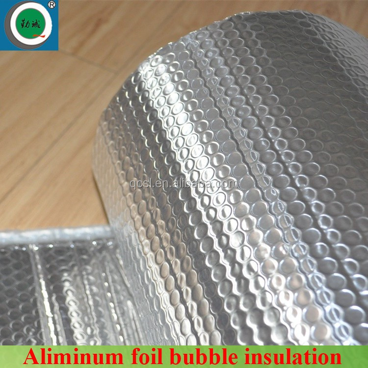 Fireproof aluminum foil bubble insulation metal roof insulation