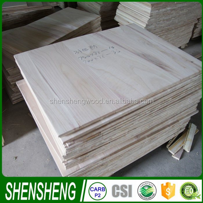 paulownia/spruce /paulownia finger joint board for sale