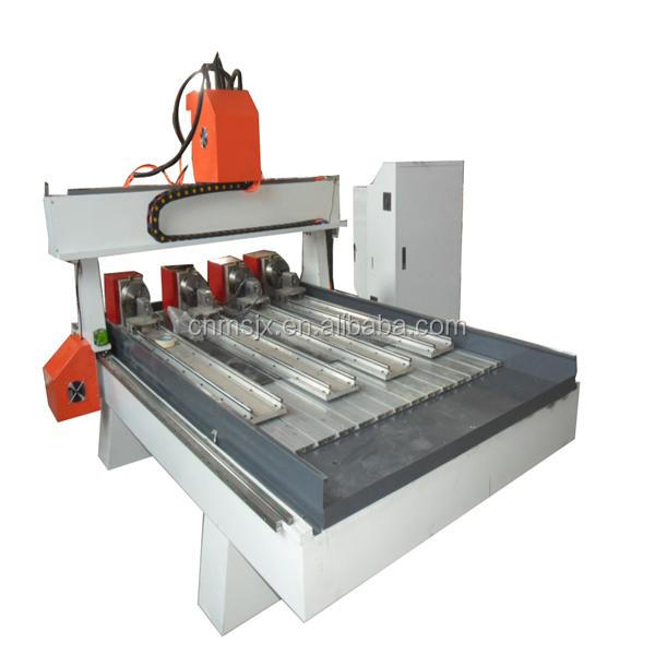 1325 cnc wood carving machine more than axis of rotation
