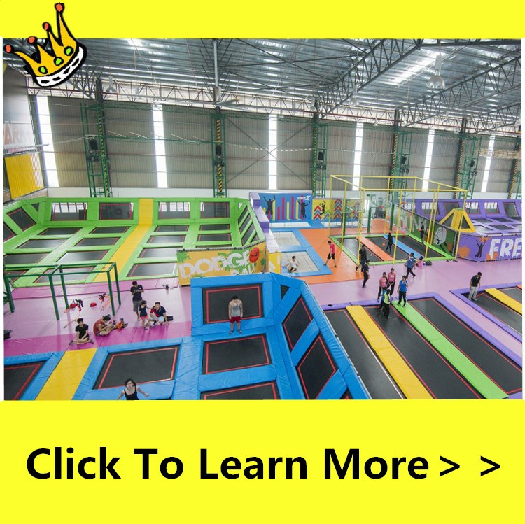 Free Jump Commercial Trampoline Park With Ninja Course