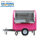 Fiberglass mobile street coffee trailer for sale coffee