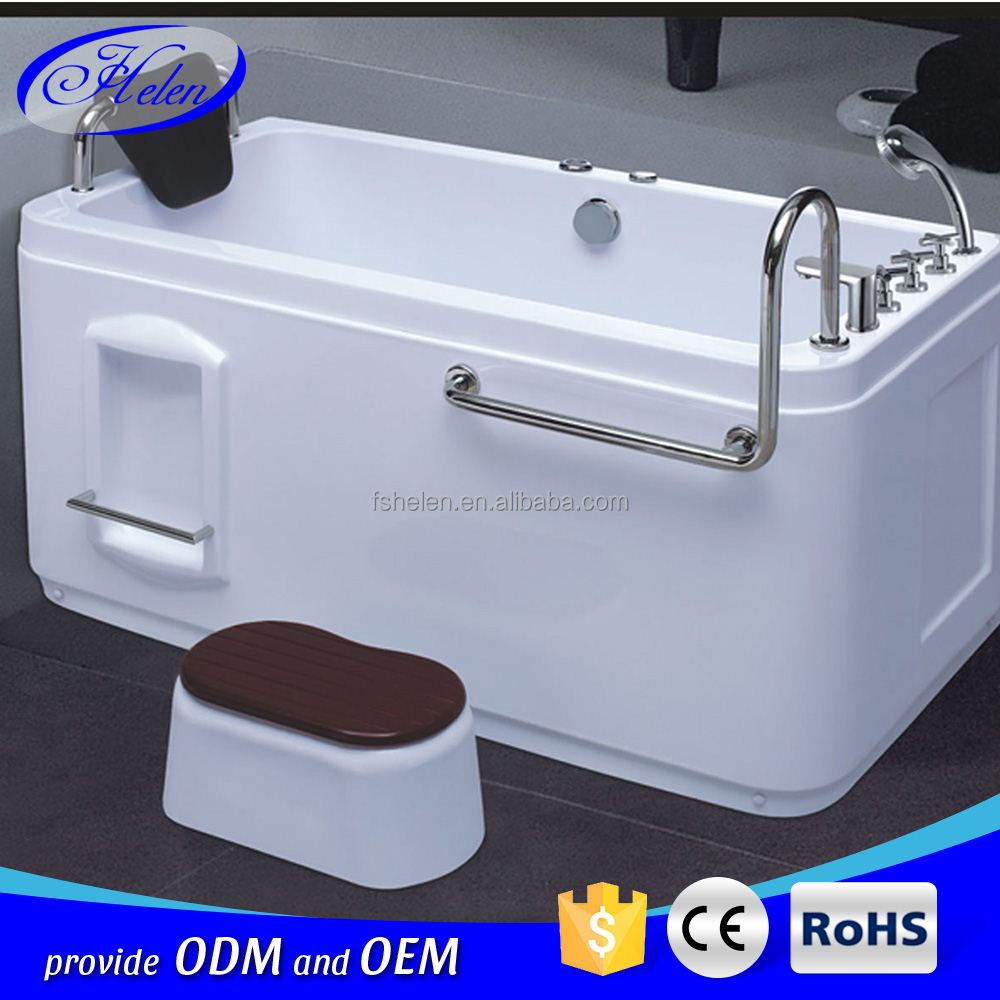 At-1105 Hot Sale Single Person Bathtub Massage/ Acrylic Message Bath ...