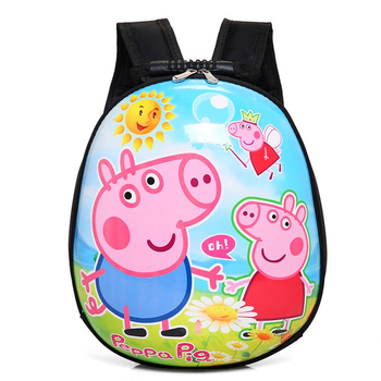 Wholesale child cute 3D cartoons egg school bags kids backpack for  kindergarten 8af223fb36