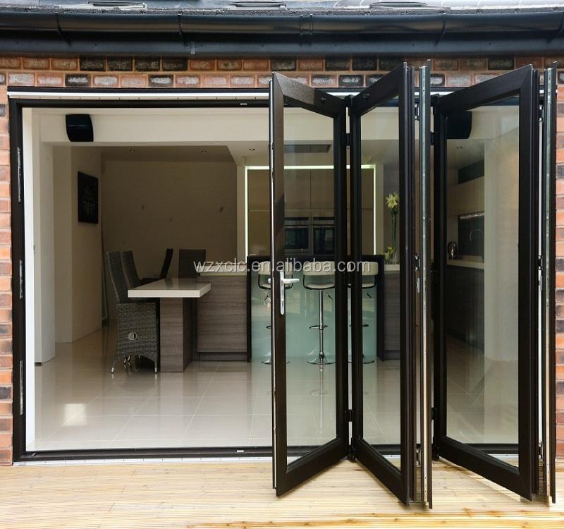 Luxury Look Patio Folding Door Black Color