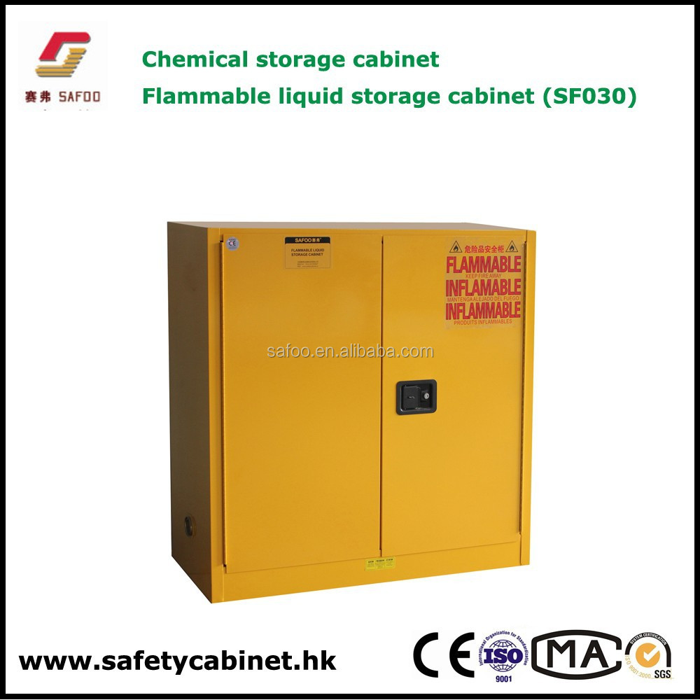 Nfpa /osha 30 Gallon Flammable Liquids Storage Cabinets,Anti Fire  Anti-explosion - Buy Flammable Liquids Storage Cabinet,Lab Chemical Storage
