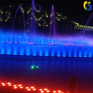 pond modern water laminar jet fountain