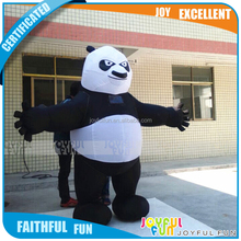 Professional Customized Top Rated Inflatable Cartoon Advertising Event Inflatable Panda for Sale