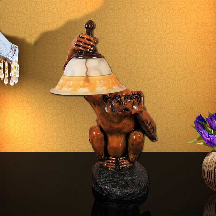 Porn Women And Animal Sex Free Led Resin Table Lamp With Animal ...