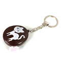 Promotional giveaways key chain colourful music keychain