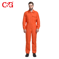 Chinese Nomex Fabric Coverall Working Uniform
