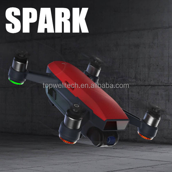 2017 hot sale latest DJI Spark with HD camera pocket selfie mini drone PK DJI Mavic Pro RC drone