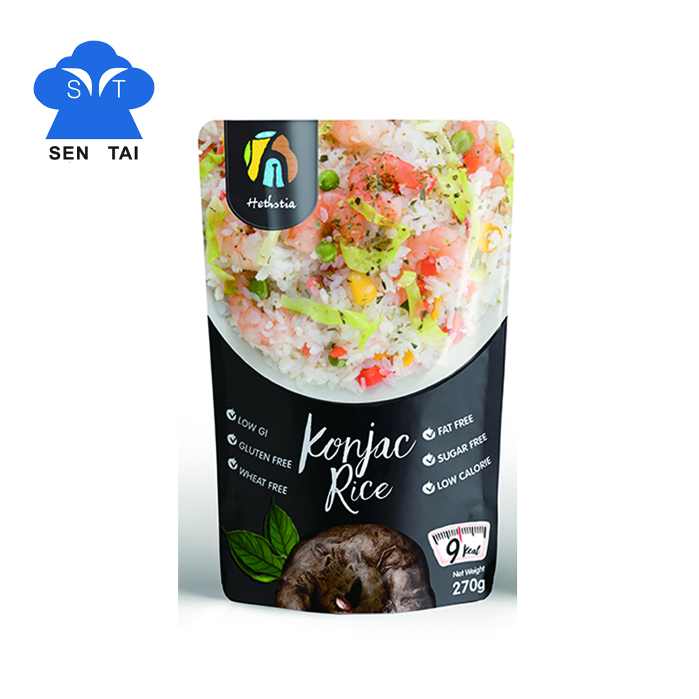 Wholesale asian foods shirataki konjac with zero fat sugar free <strong>rice</strong>