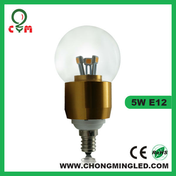 amber glass led bulb