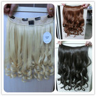 wholesale best synthetic hair extensions hair piece