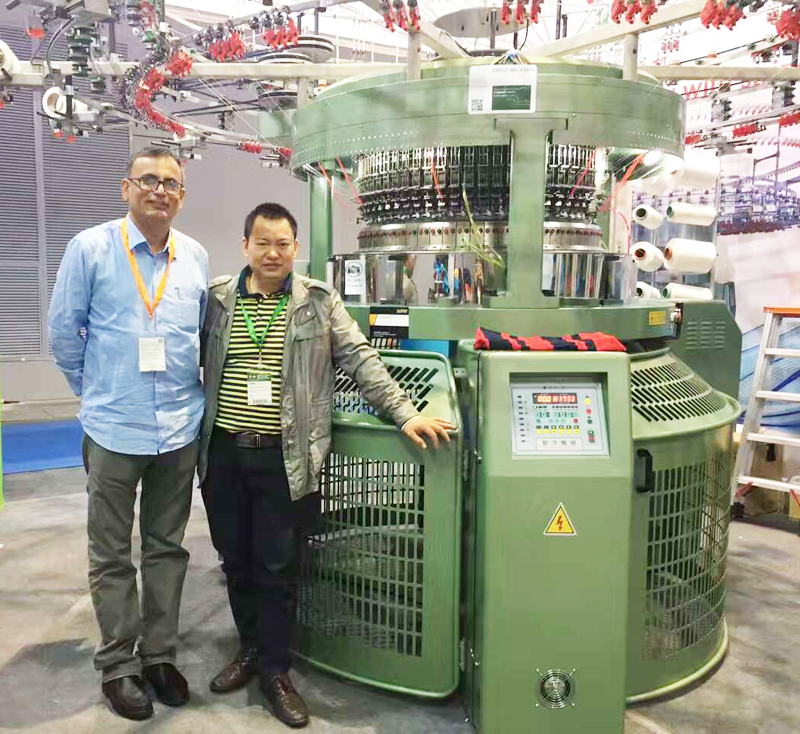 Foshan Chiyang Circular Knitting Machinery Factory China Single Double  Jersey Jacuard With Strapers Exhibition Bangladesh Agent - Buy Circular