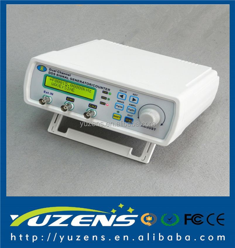 MHS-5200A DDS NC Dual Channel Arbitrary Waveform Signal Generator Frequency Meter Signal Source 4 TTL Output