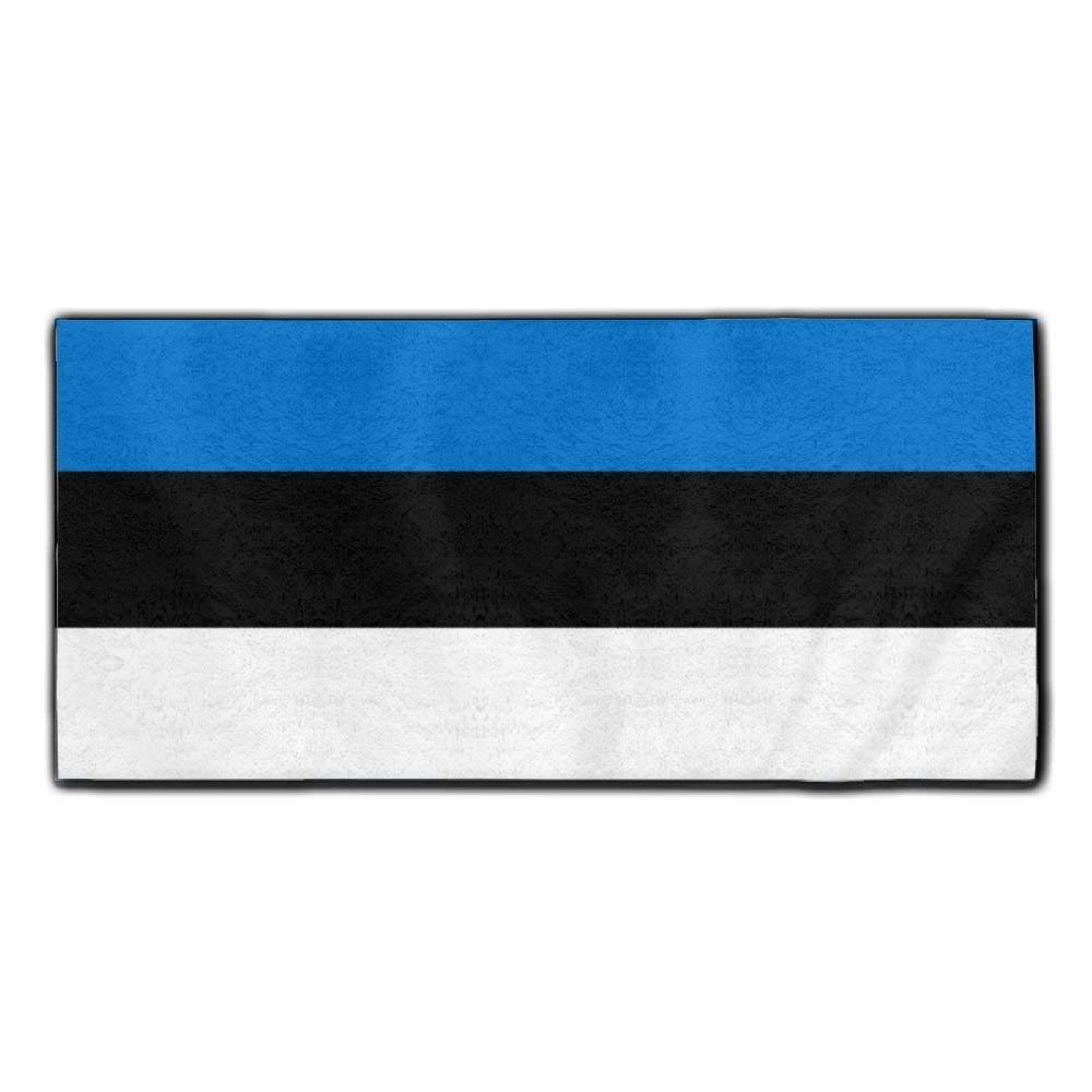 ChunLei Estonian Flag Washcloths Face Towel Hair Care Towel Gym And Spa Towel Kitchen Dish Towel