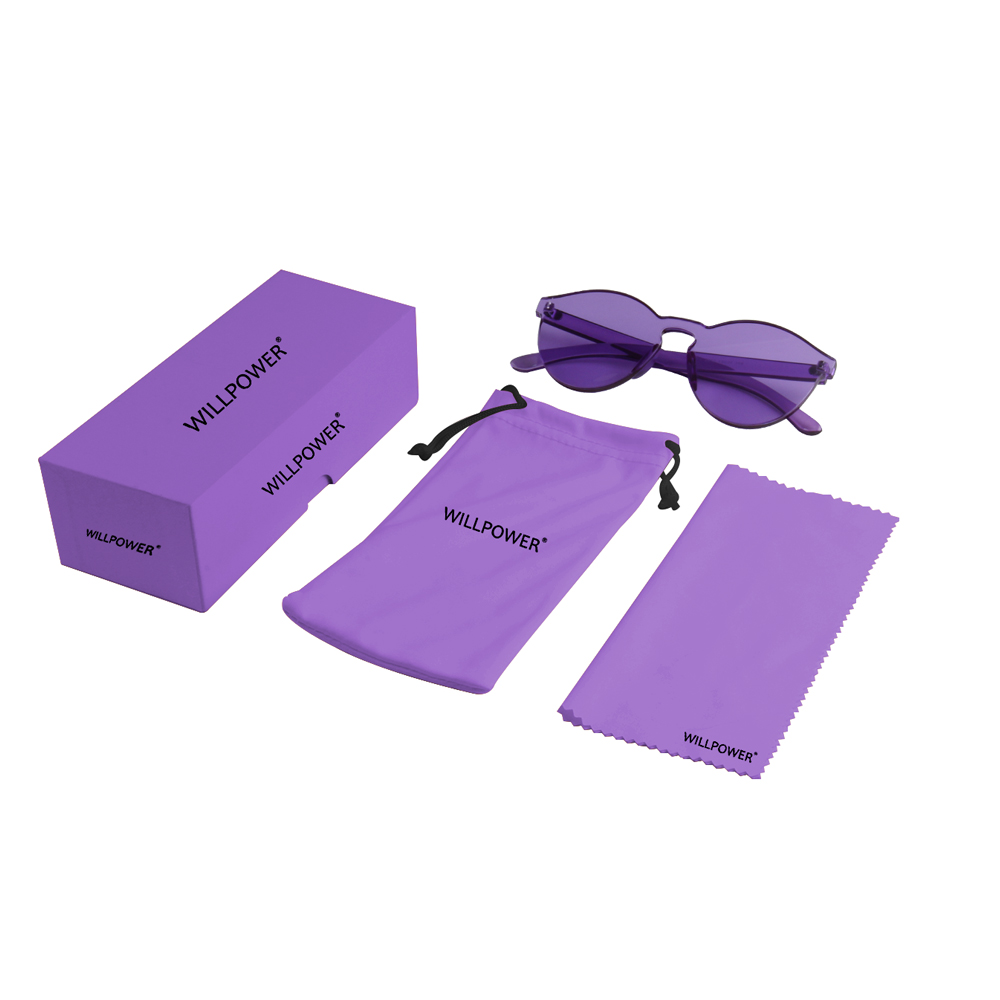 Candy Color Sunglasses Women Luxury Brand round purple Clear Sunglasses Ladies Men Driving UV400 Eyewear Sun Glasses