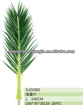Artificielle Feuille Verte Palmier Artificiel Feuilles Feuilles De