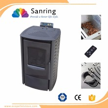 Easy install China pellet stove,wood pellet fireplace