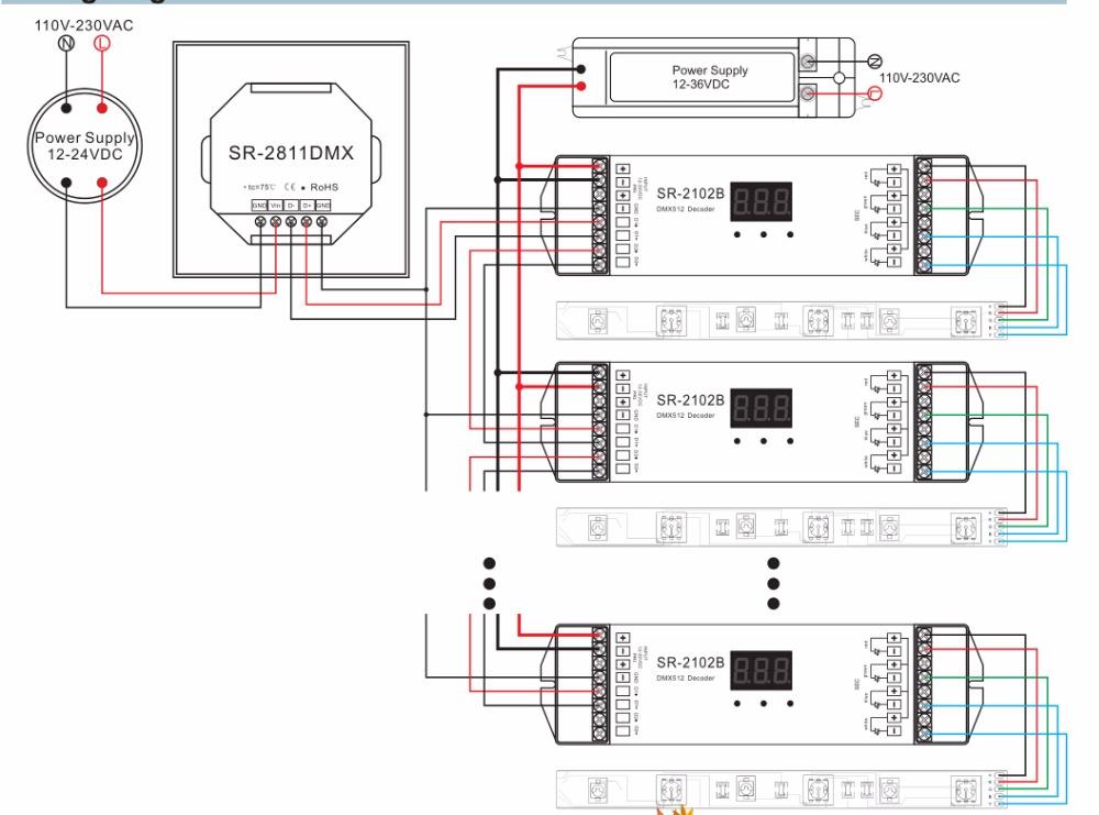lor dmx wiring diagram wiring diagram schematic DMX Wiring-Diagram Raw