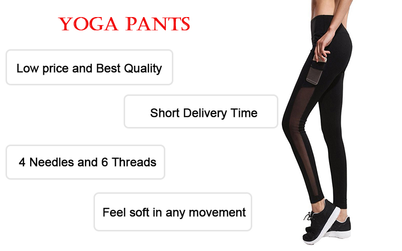 High waist private label customized yoga pants fitness set