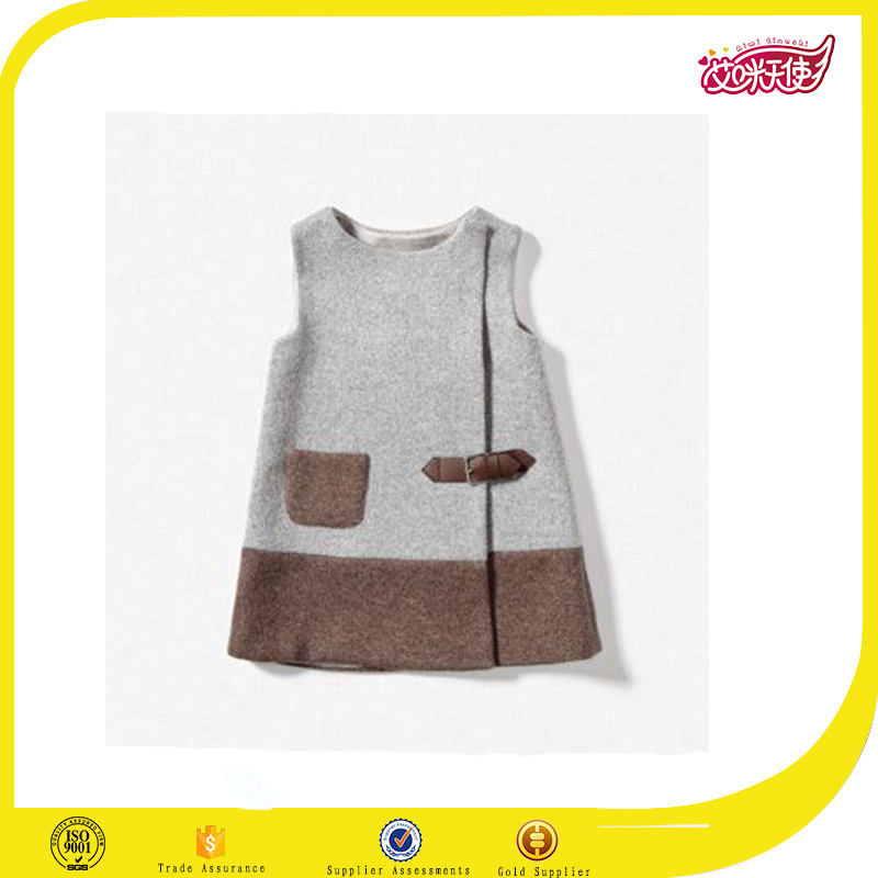 2016 cute 1-6 years old baby girl daily wear simple dress for girl