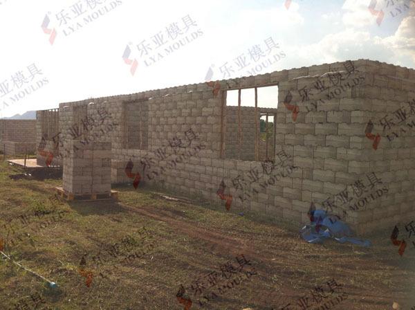 Concrete Hollow Block Molds For Sale With Good Quality Concrete ...