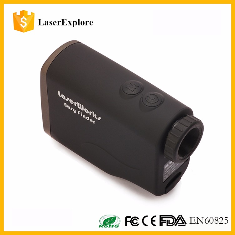 1000M Monocular Telescope Waterproof Flagpole Lock Golf Laser range finder Distance Measures