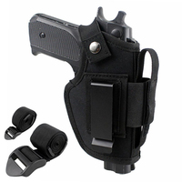 Tactical Gun Holster Concealed Belt Holsters IWB OWB Car Pistol Bag With 2 Strap Mounts Gun Accessories SK88156