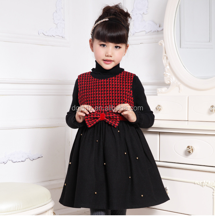 Little Girls Winter Formal Children Dresses Kids Girls Winter ...