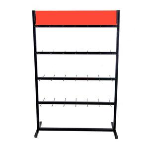 4 tiers stand double side hanging display rack for pillow